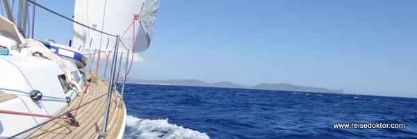 Segelreise Sardinien