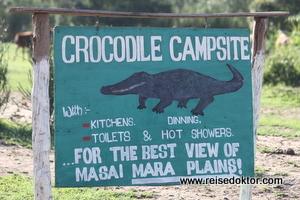 Crocodile Campsite, Masai Mara