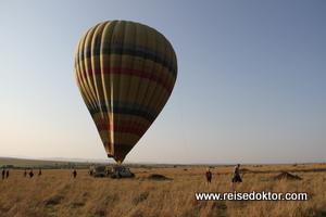 Kenia, Ballonfahrt Mara Serena Lodge