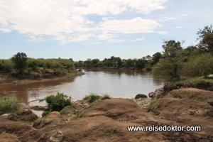 Mara Fluss in Kenia