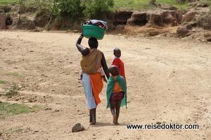 Masai Familie, Masai Mara