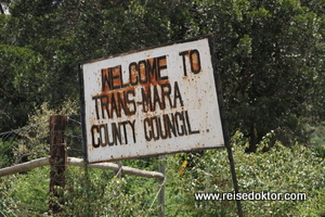 Masai Mara Eingang