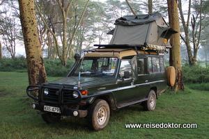 Mietwagen in Kenia: Allradjeep