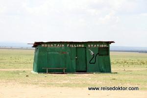 Tankstelle Masai Mara