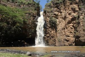 Makalia Wasserfall im Lake Nakuru Nationalpark