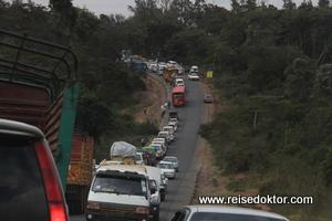 Verkehrsstau in Nairobi