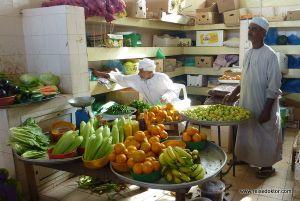 Gemüsemarkt Oman