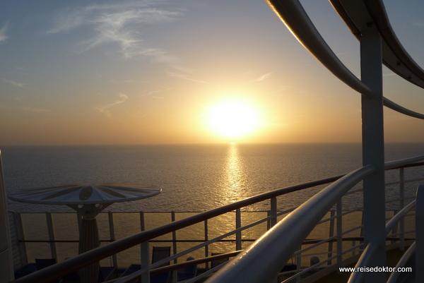 Sonnenuntergang Kreuzfahrt