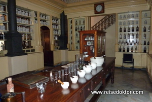 Apothekenmuseum auf Kuba (Stadt Matanzas)