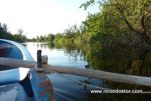 Bootsfahrt auf Kuba