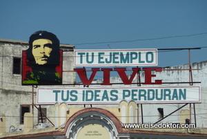 Che Guevara auf Kuba