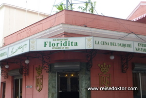 El Floridita in Havanna