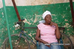Frau in Kuba