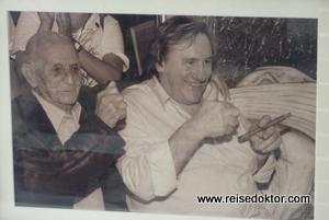 Gerard Depardieu auf Kuba
