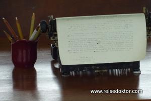 Schreibmaschine im Hemingway Museum in Havanna, Kuba