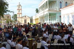 Musikfestival in Remedios auf Kuba