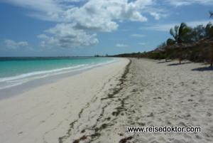 Strand an der Nordküste von Kuba
