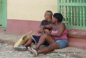 Strassenszene Kuba