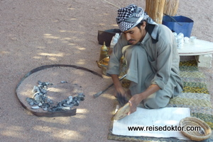 Beduinen in der Wüste bei Hurghada