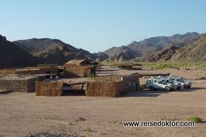 Beduinendorf bei Ausflug von Hurghada