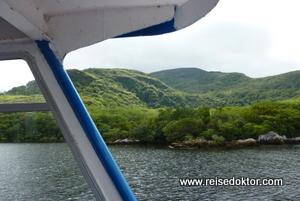 Bootsfahrt See in Killarney