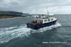 Fähre nach Inisheer, Aran Islands