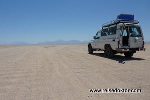 Jeepsafari in die Wüste, Hurghada