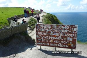 Moher Klippen in Irland