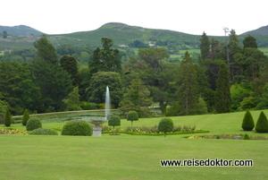 Powerscourt Gartenanlage, Irland