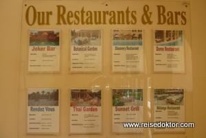 Restaurants im Hotel Makadi Palace