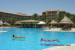 Pool im Siva Grand Beach Hotel, Hurghada