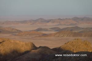 Sonnenuntergang in der Wüste, Ägypten
