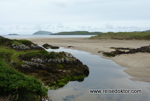 Strand am Ring of Kerry, Irland