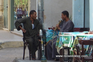 Strassenleben in Hurghada Stadt
