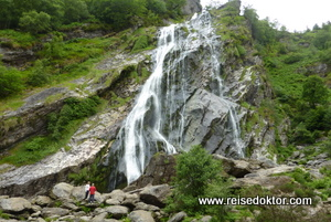 Wasserfall in Irland, Powerscourt