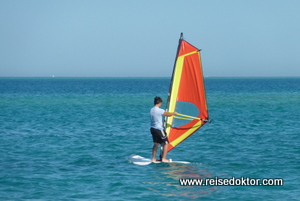 Windsurfen in Hurghada