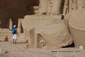 Abu Simbel Eingang