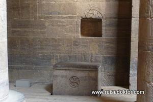 Altar im Philae Tempel