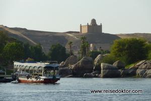 Bootsfahrt auf dem Nil