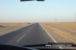 Straße in Ägypten