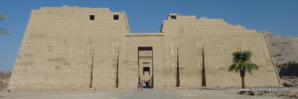 Habu Tempel, Luxor
