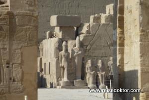 Besuch der größten Tempelanlage Ägyptens: Karnak
