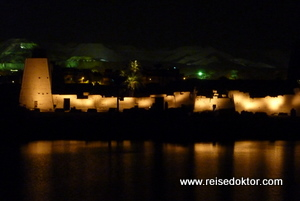 Light and Sound Show in Karnak, Luxor