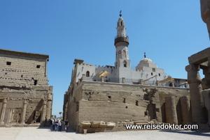 Moschee im Tempel von Luxor