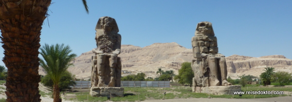 Memnonkolosse in Luxor (Theben-West)