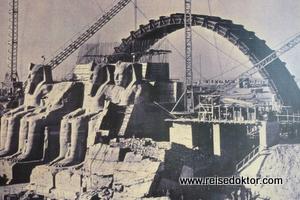 Neuerrichtung vom Tempel Abu Simbel