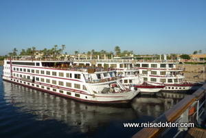 Nilschiffe Luxor