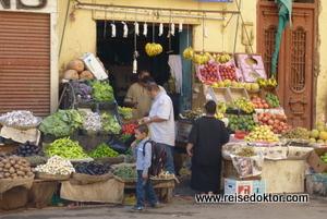 Obst - Gemüsestand in Luxor