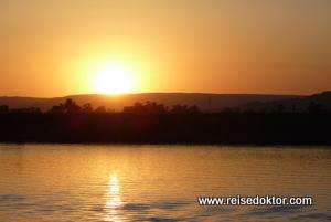 Sonnenuntergang Nil