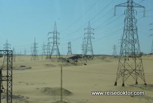 Stromversorgung in Ägypten